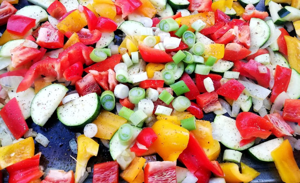 Vegetables Grill Paprika Colorful
